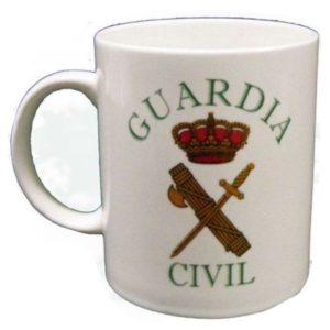Taza Guardia Civil regalo