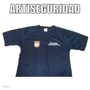 CAMISETA UPR CUERPO POLICIA