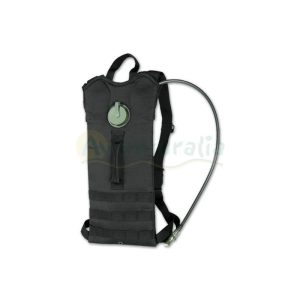 Mochila Hidratante Porta liquidos Negra 3 Litros.