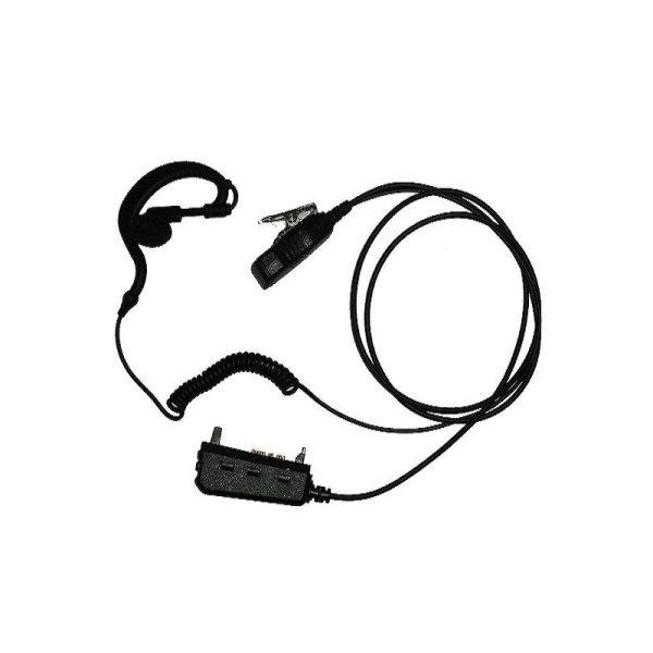Auricular y Micro Táctico Equipo MATRA