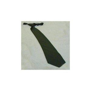 Corbata Raso Verde GC Con Nudo.