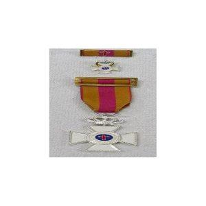 Medalla Policial 25 Años plata+regalo pasodor+medalla mini