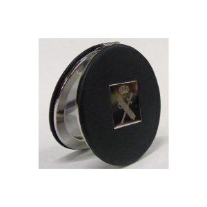 Espejo bolso señora Negro con Escudo Guardia Civil