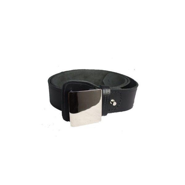 Cinturón Vigilante Seguridad con Chapa Metálica