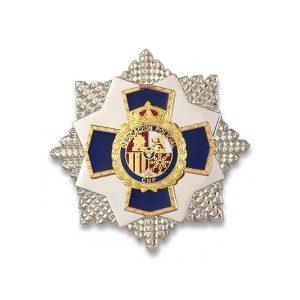 PLACA a la dedicacion POLICIAL 35 AÑOS