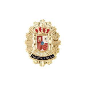 PLACA POLICIA LOCAL METALICA