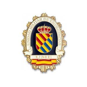Chapa Unidad Militar de Emergencia UME