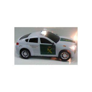 Coche Guardia Civil plastico con luz y sonido 23x9cm.