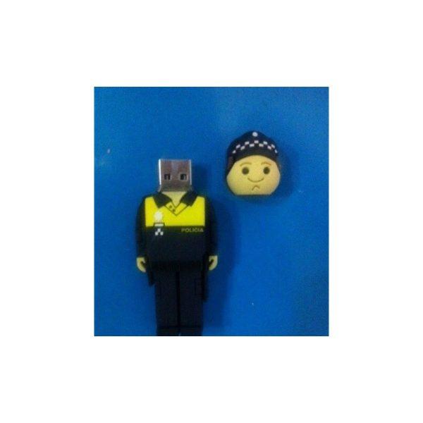 Memoria USB, 8Gb, Policía Local