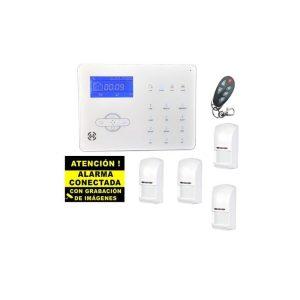 Kit de Alarma Táctil GSM Bysecur Pro 2. Central + 4 PIR + Mando