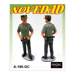 Figura Guardia Civil porcelana decorativa Grande (NADAL Studio)
