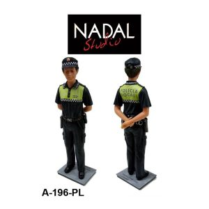 Figura Policia Local porcelana decorativa Grande (NADAL Studio)