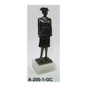 Figura Mujer Guardia servicio 20 cm.