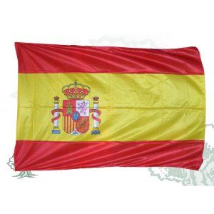 Bandera exterior con escudo 200x133 cm. (España, CC.AA.,UE, etc)