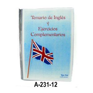Libros Temario de Ingles y Ejercicios Complementarios