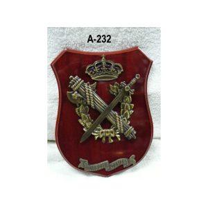 Metopa emblema y laurel