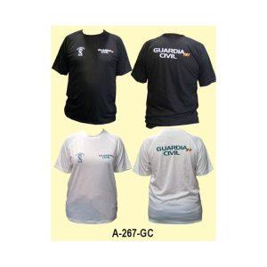 Camiseta tecnica blanca o negra