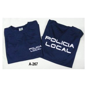 Camiseta tecnica azul marino