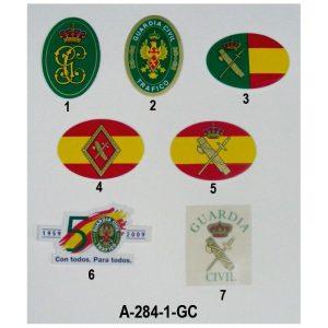Pegatina Emblemas Guardia Civil