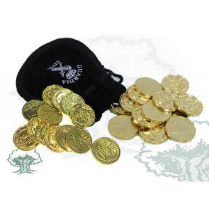 Arras 1 o 2 Euros+ bolsa terciopelo