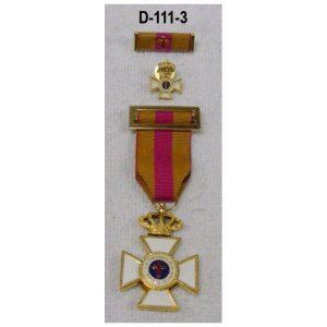 Medalla 30 años-oro+Regalo pasador+Medalla mini OFERTA