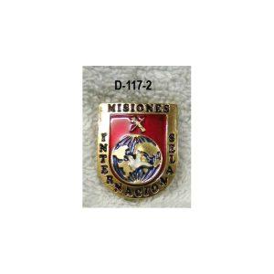 Distintivo Misiones Internacionales Guardia Civil