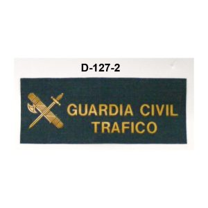 Galleta tela Trafico GUARDIA CIVIL