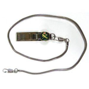Pinza Guardia Civil con cadena metálica