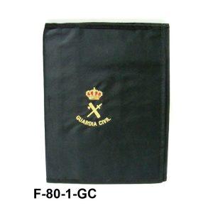 Carpeta portaboletines Guardia Civil bordada