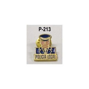 Pins Policía Local