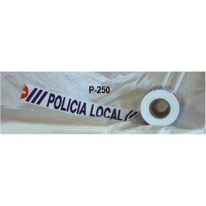 Rollo de cinta balizamiento Policía Local rollo de 250 metros