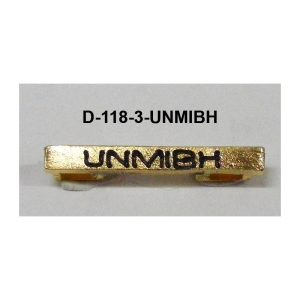 Barras UNMIBH
