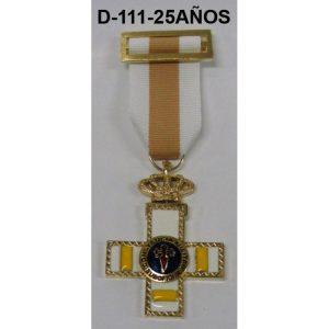Medalla Cruz a la Constancia 25 AÑOS