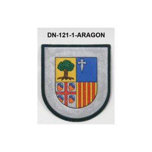 Distintivo Destino Comunidades Autonomas con velcro ARAGON