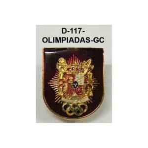 Distintivo OLIMPIADAS