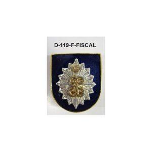 Distintivo en relieve Funcion FISCAL