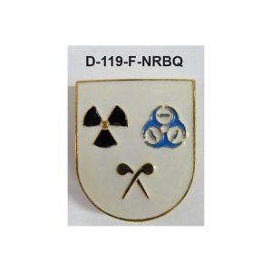 Distintivo en relieve Funcion NRBQ