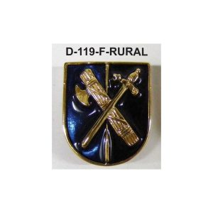 Distintivo en relieve Funcion RURAL