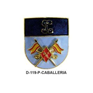 Distintivo en relieve Permanencia CABALLERIA-ESCUADRON