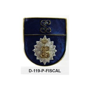 Distintivo en relieve Permanencia FISCAL