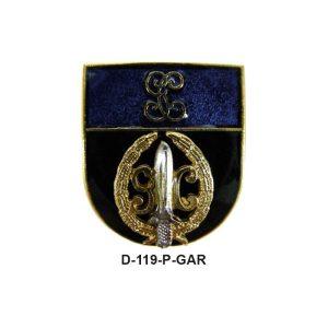 Distintivo en relieve Permanencia GAR