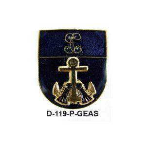 Distintivo en relieve Permanencia GEAS