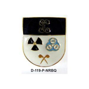 Distintivo en relieve Permanencia NRBQ