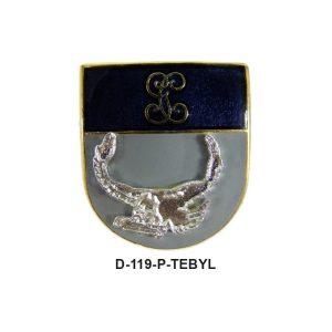 Distintivo en relieve Permanencia TEBYL
