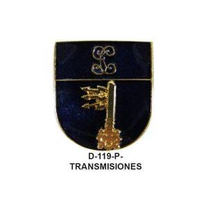 Distintivo en relieve Permanencia TRANSMISIONES