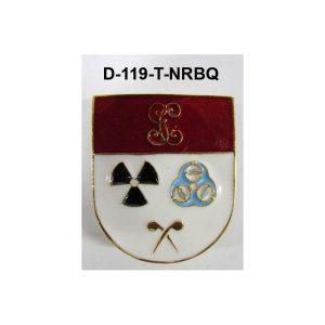 Distintivo en relieve Titulo NRBQ