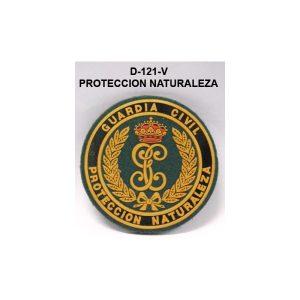 Distintivo velcro brazo PROTECCION NATURALEZA