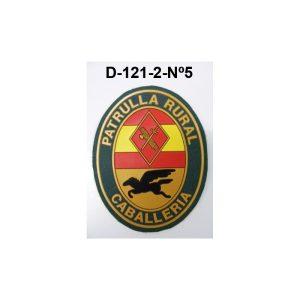 Distintivo manga Nº5