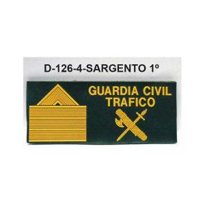 Galleta anorak PVC Trafico SARGENTO 1º