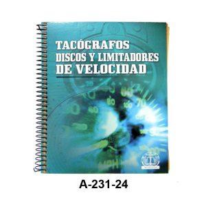 Libro Tacografos, Discos y Limitadores de velocidad